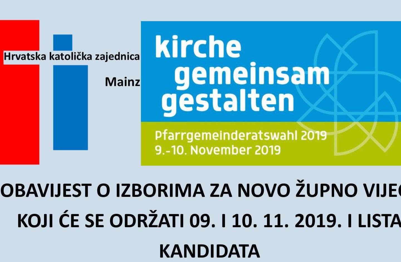 REZULTATI IZBORA ŽUPNOG VIJEĆA 2019.