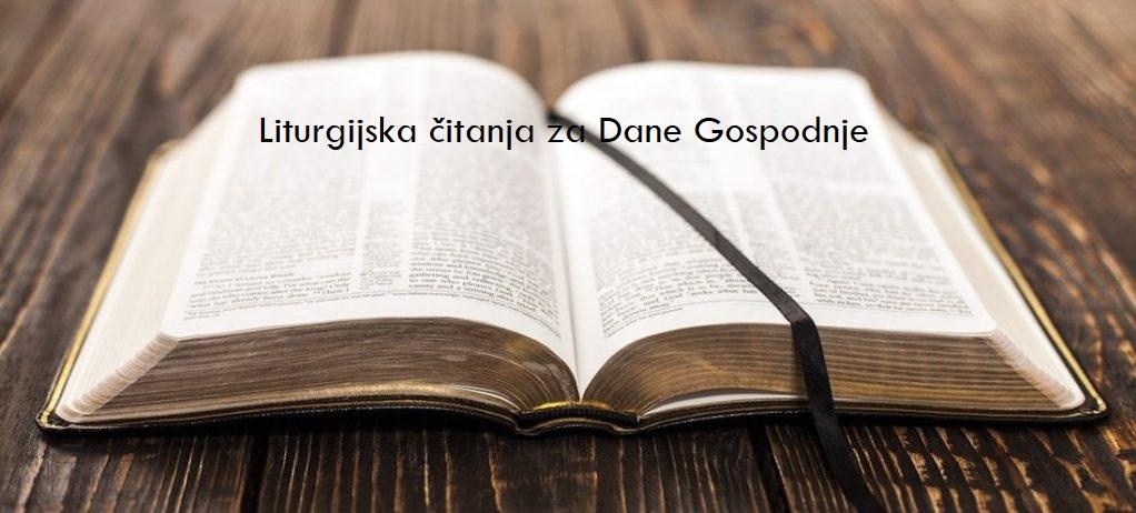 Liturgijska čitanja za 25. nedjelju kroz godinu/B – 19. 09. 2021.